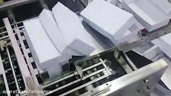 دستگاه چسب زن جعبه رشته آش B108 - بسته بندی رشته آش